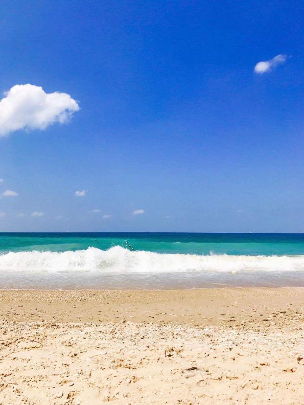 Givat Aliya Beach near Jaffa