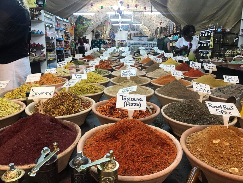 Spices, Old City, Jerusalem