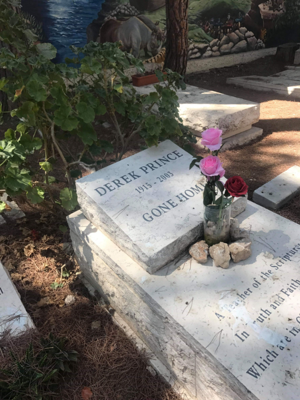 The Grave of Derek Prince