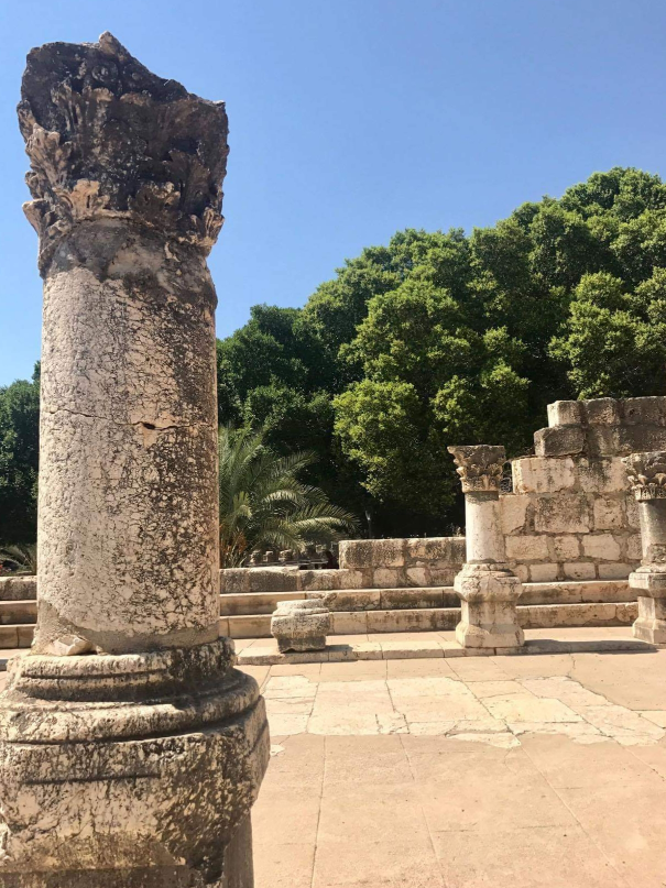 Ruins of Old Synagogue, Capernaum