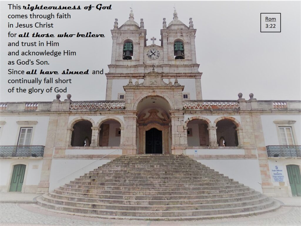 Sanctuary of Our Lady of Nazare, Portugal - Beware of religious people
