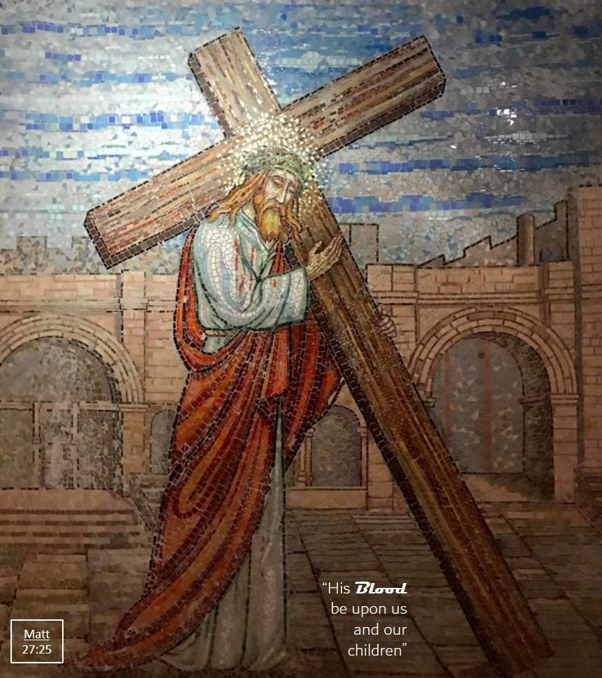 Remember His sacrifice, Via Dolorosa