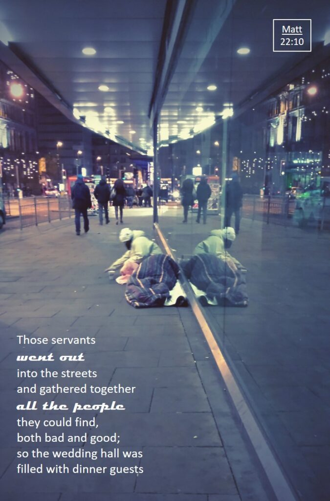 Serve others, Streets of Manchester