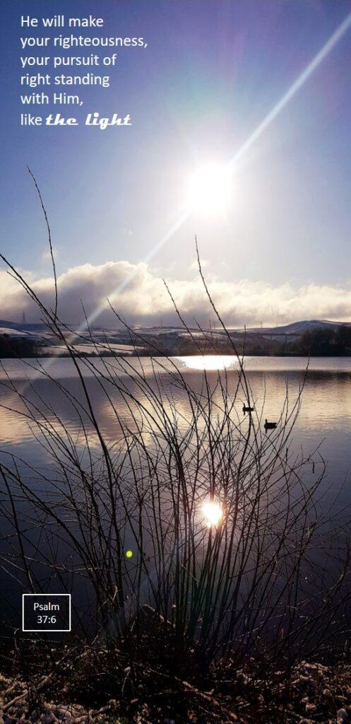 Let your light shine, Hollingworth lake