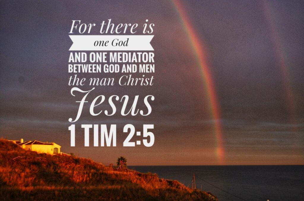 Torrox Costa, Spain - One God, One Mediator - Jesus