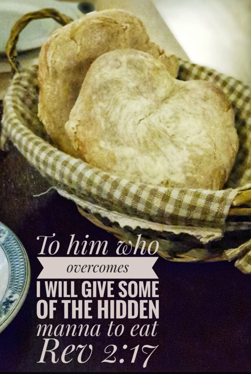 Hidden manna Rev 2:17