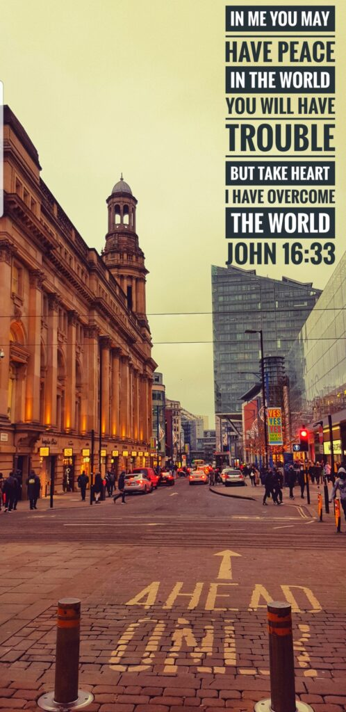 Manchester - He has overcome
