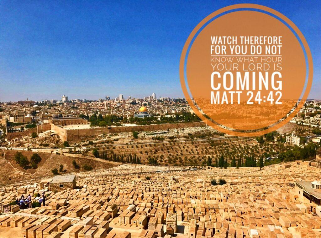 Jerusalem - watch!
