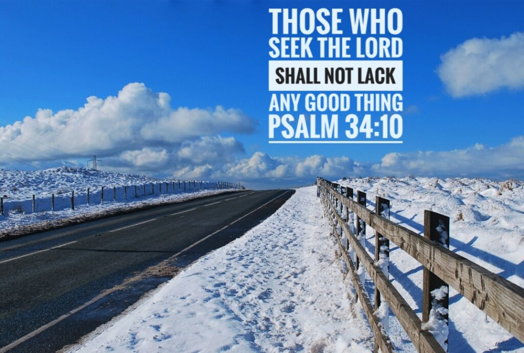 Blackstone Edge Road, Psalm 34