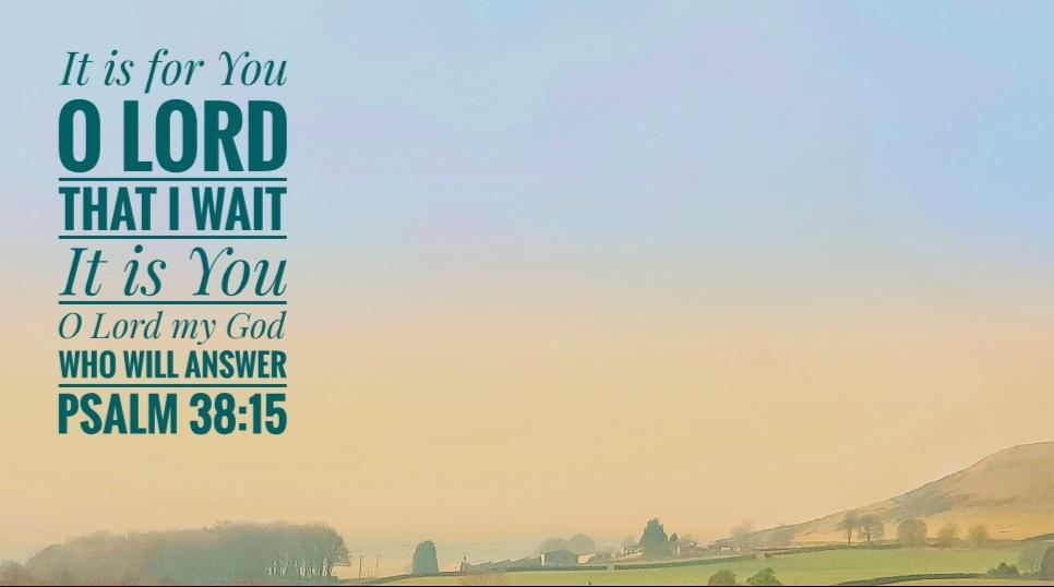 Psalm 38 - Helmshore