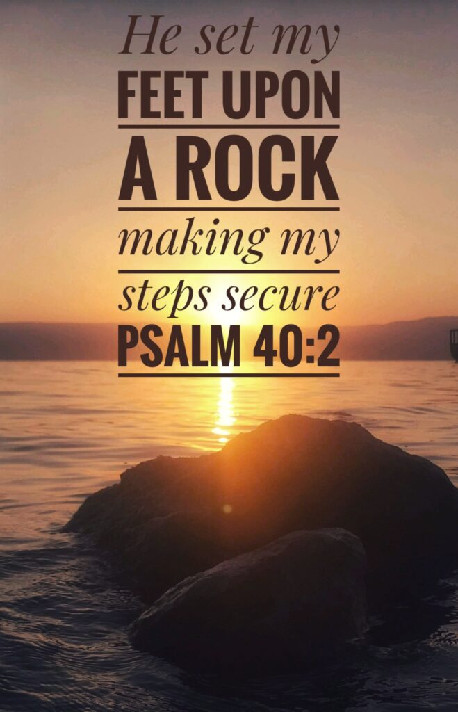 Psalm 40 - Sea of Galilee