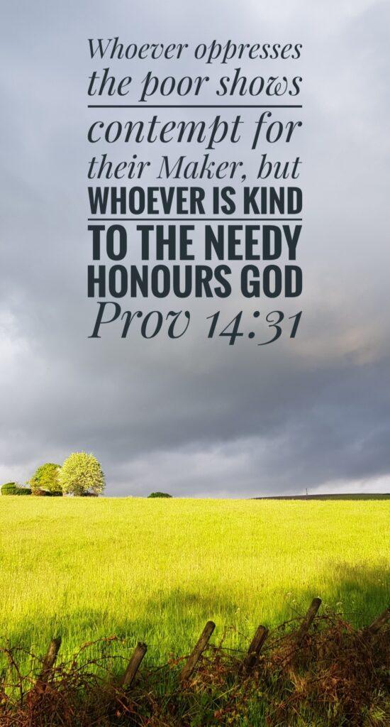 Rakewood Road - Be kind to the poor