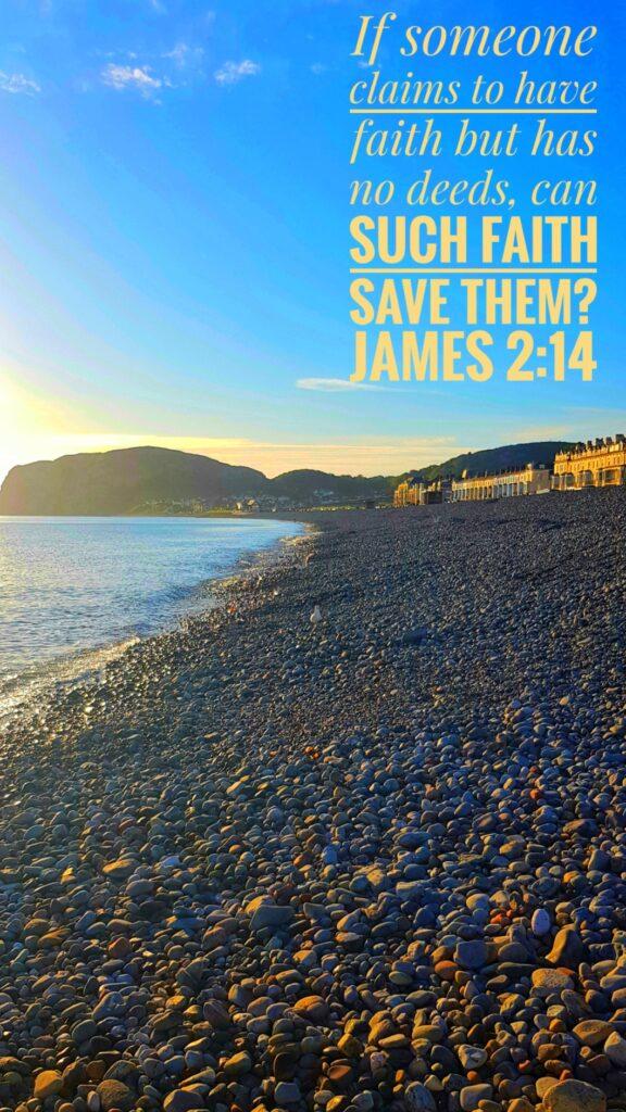 Llandudno - James 2:14